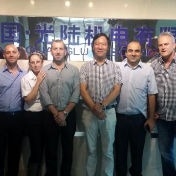 ביקור במפעל ליצור מנועי חשמל